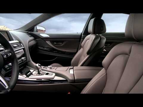 Interior design. BMW M6 Gran Coupé.