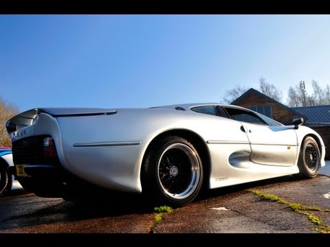 RIDE 660bhp Jaguar XJ220