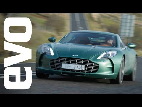 Aston Martin One-77 drive – evo Diaries world exclusive review