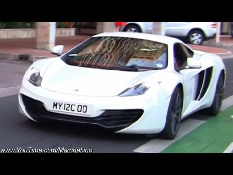 McLaren MP4-12C – Start Up and Driving in Monaco!
