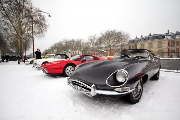Jaguar-Type-E-Ferrari-328-GTS-La-Nocturne-2013