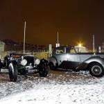 """Rallye """"La Nocturne 2013″ : quand les anciennes bravent l'hiver !"""