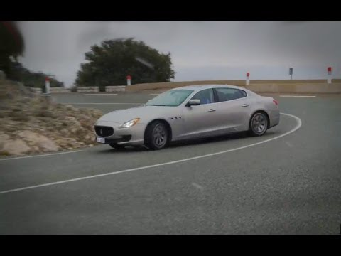 Maserati Quattroporte vs Jaguar XJ – autocar.co.uk