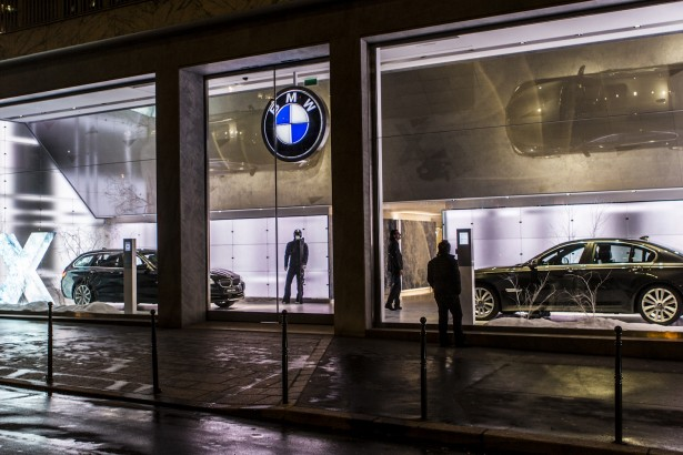 BMW George V : une nouvelle exprience automobile  Paris !