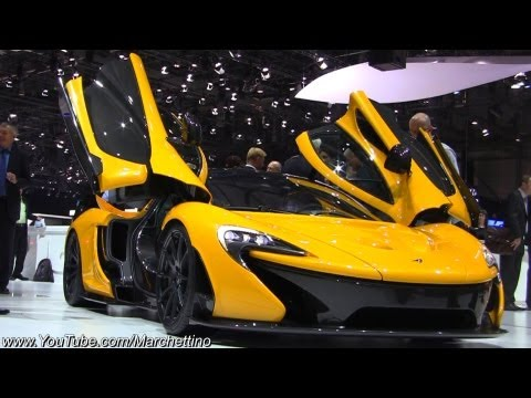 Yellow McLaren P1 in Detail!