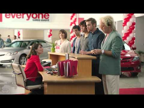 #1 For Everyone Sales Event – Camry