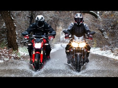 Ducati Streetfighter 848 vs Triumph Street Triple R! – On Two Wheels Episode 25