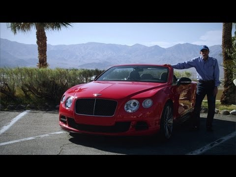 2013 Bentley Continental GT Speed Convertible – Review – CAR and DRIVER