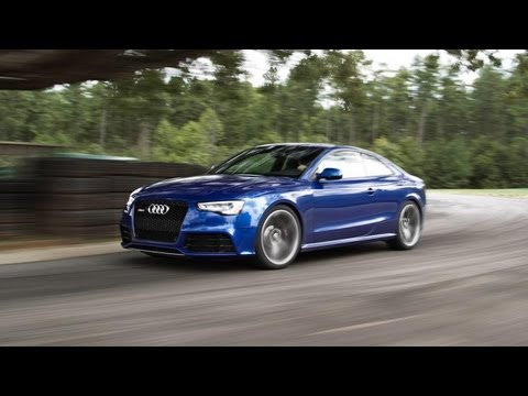 2013 Audi RS5 – 2013 Lightning Lap – LL3 Class – CAR and DRIVER
