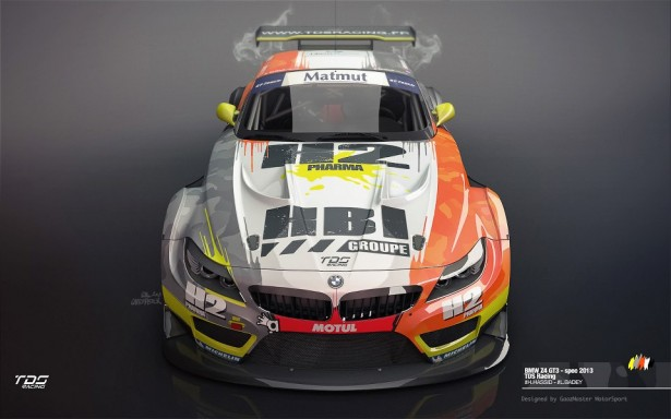 BMW-Z4-GT3-GT-Tour-Blancpain-Endurance-Series-2013-TDS-Racing-Front