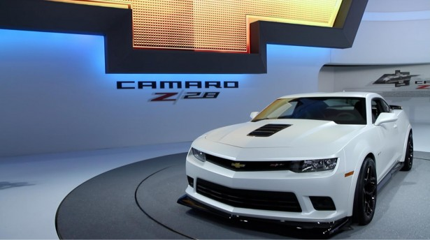 Chevrolet Camaro 2014 : la Muscle car retrouve son Z28 lgendaire !