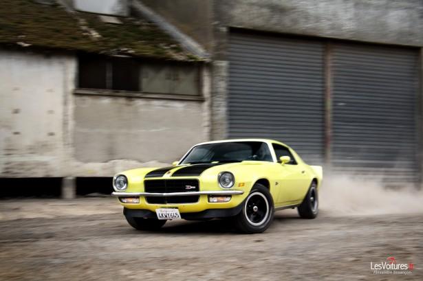Chevrolet-Camaro-V8-Z28-Drift