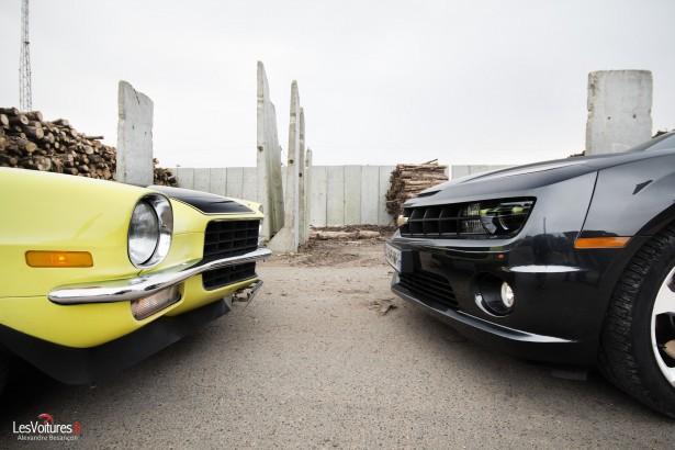 Chevrolet L Histoire D Un Mythe 224 Travers Deux G 233 N 233 Rations De Camaro Les Voitures