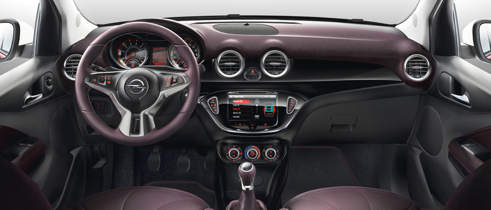 Opel adam les voitures for Opel adam s interieur