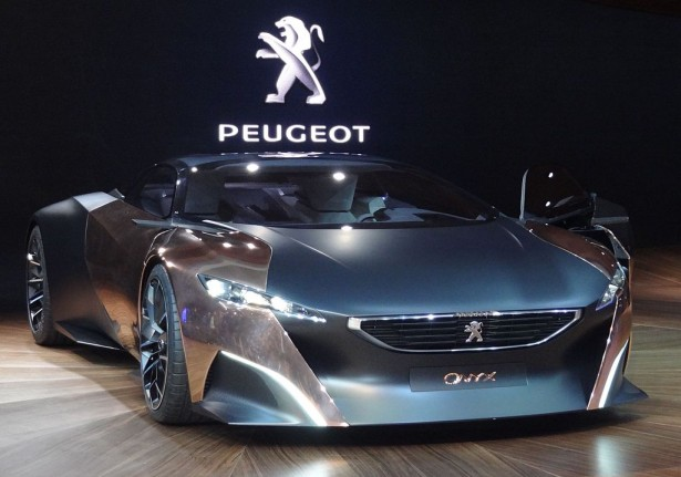 Peugeot Onyx : le &#8220;Concept car&#8221; dans Top Gear avec le pilote franais Grgory Guilvert