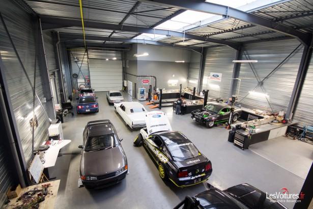 The speedshop l 39 antre de la muscle car les voitures - Garage restauration voiture ...