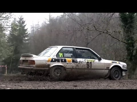 The Wye Dean rally in a Ratty BMW 325i &#8211; CHRIS HARRIS ON CARS