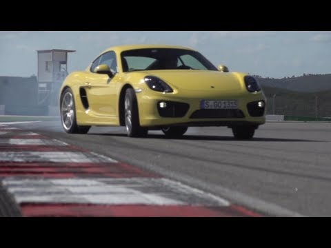 The New Porsche Cayman Drifting – DRIVE MOMENT