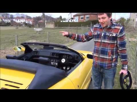 A moaning northener and a Ferrari 355
