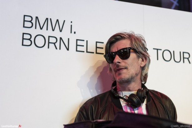 BMW i. Born Electric Tour : Kavinsky lectrise Paris !