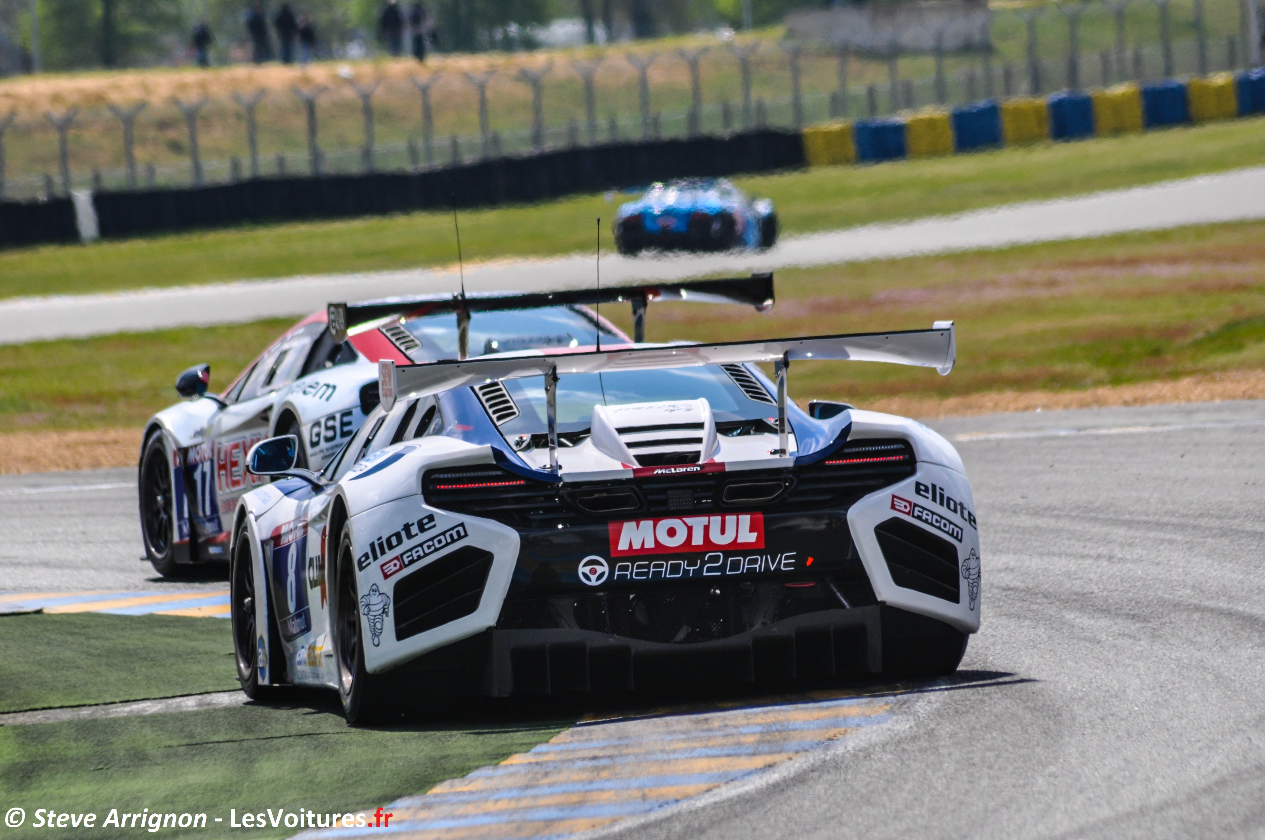 GT Tour &#8211; Le Mans : les McLaren en matres !