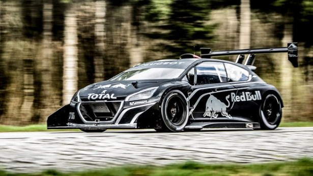 Peugeot 208 T16 Pikes Peak : 875 chevaux pour Loeb !