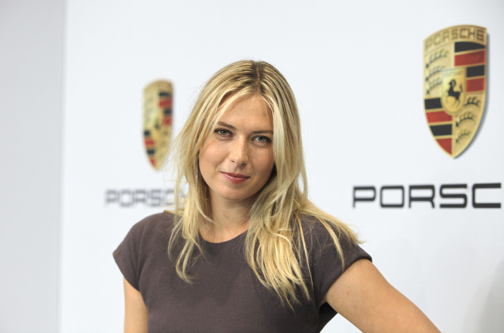 Maria-Sharapova-Porsche
