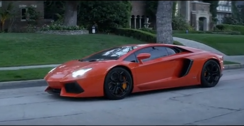 Lamborghini Avantador : la supercar star du dernier clip de Chris Brown !