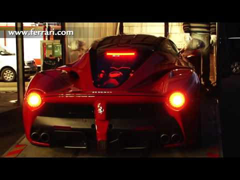 LaFerrari – Behind the scenes