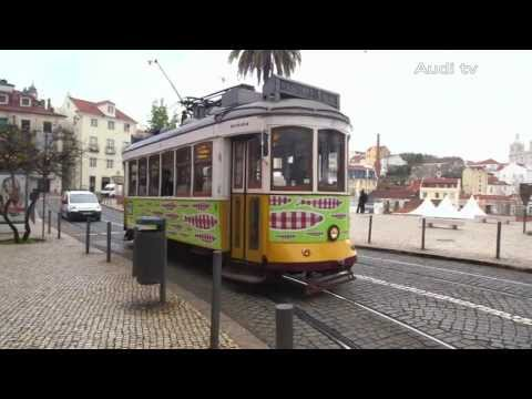 The Audi A3 Sportback – Cruising through the streets of Lisbon