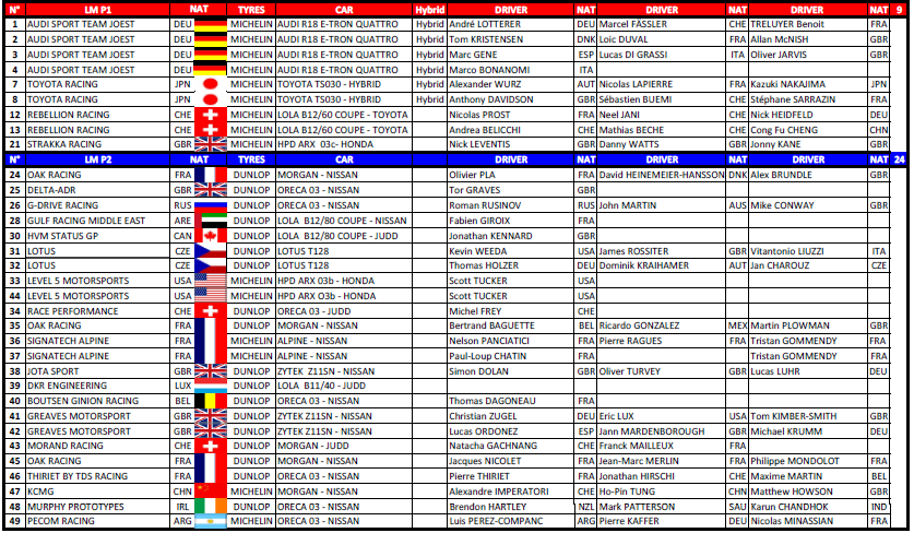 le-mans-entry-list