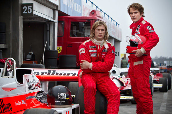 RUSH : le trailer du film sur la saison de F1 1976 dvoil !