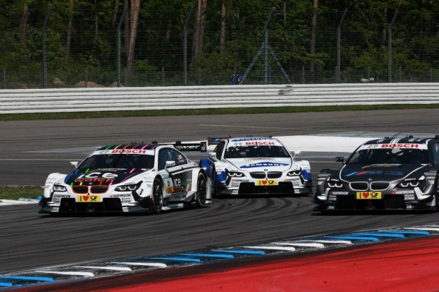 DTM : doubl BMW  Hockenheim