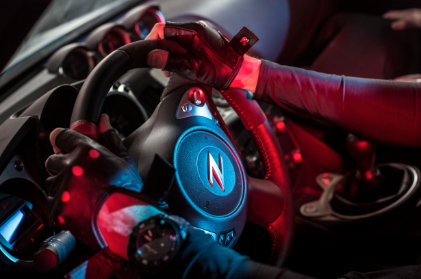 NISSAN 370Z Nismo interior gumball