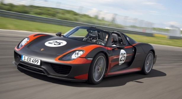 Porsche 918 Spyder : 887 chevaux pour la bombe sans