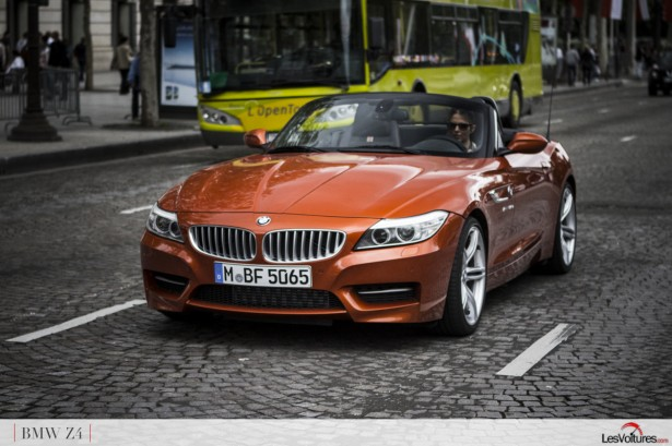 bmw z4 sdrive35is l 39 essai charme avec ludivine the voice les voitures. Black Bedroom Furniture Sets. Home Design Ideas