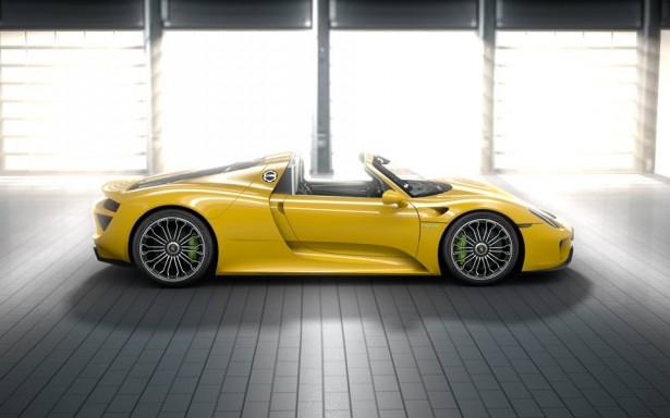 porsche-918-spyder-jaune