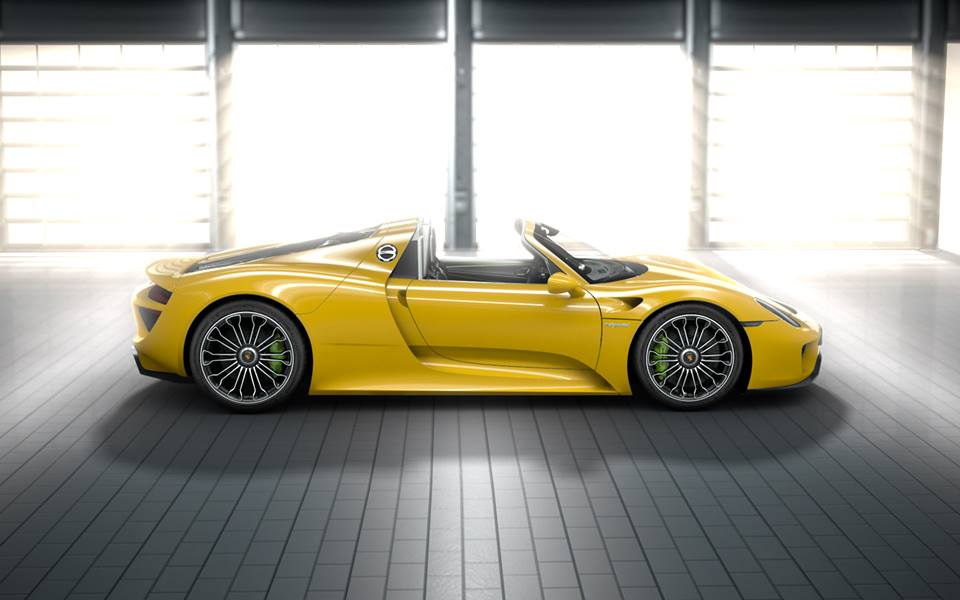 porsche 918 spyder jaune enfin plus de photos de la porsche 918 spyder jaune porsche 918. Black Bedroom Furniture Sets. Home Design Ideas