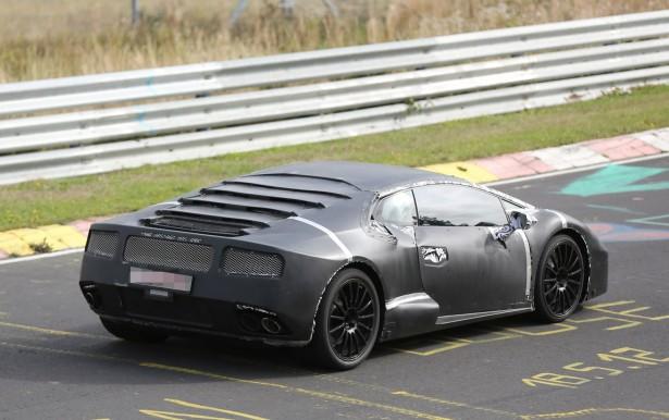 Lamborghini Cabrera Spy Photos