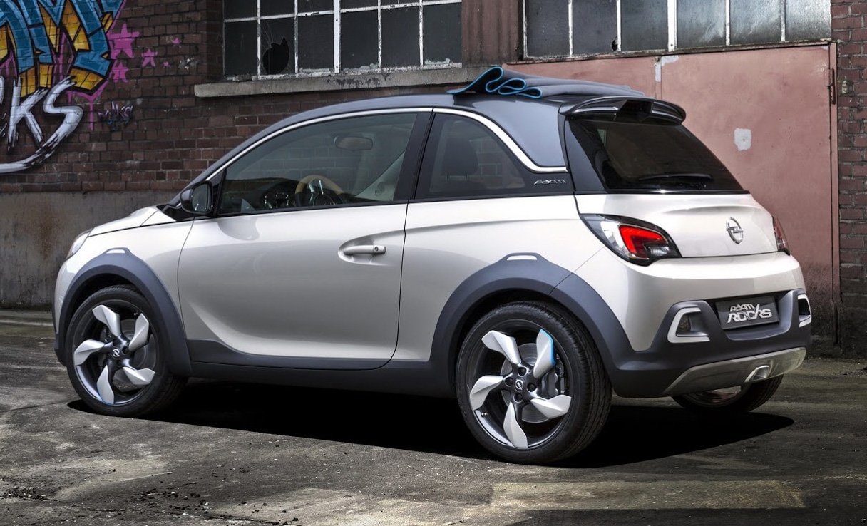 opel adam rocks concept suv 2014 1 les voitures. Black Bedroom Furniture Sets. Home Design Ideas