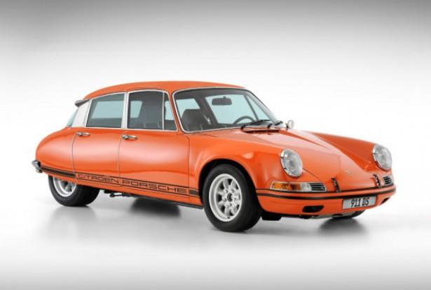 Citroen-DS-Porsche-911