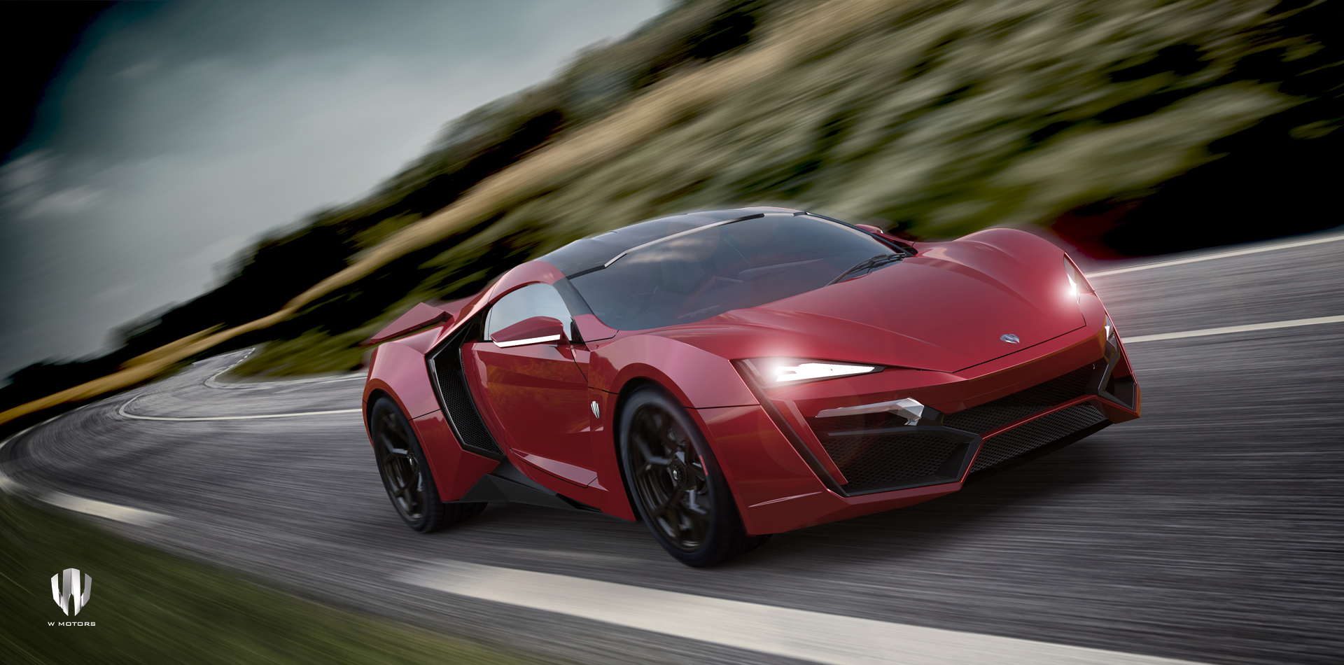 lykan hypersport ruby garnet les voitures. Black Bedroom Furniture Sets. Home Design Ideas