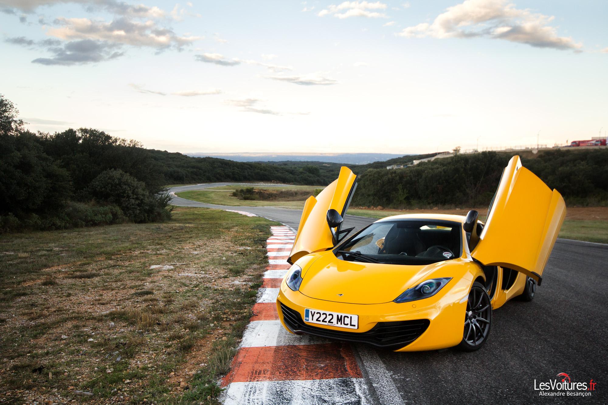 McLaren 12C Spider : d'une 12C à une autre avec la GT3 du Sébastien Loeb Racing…