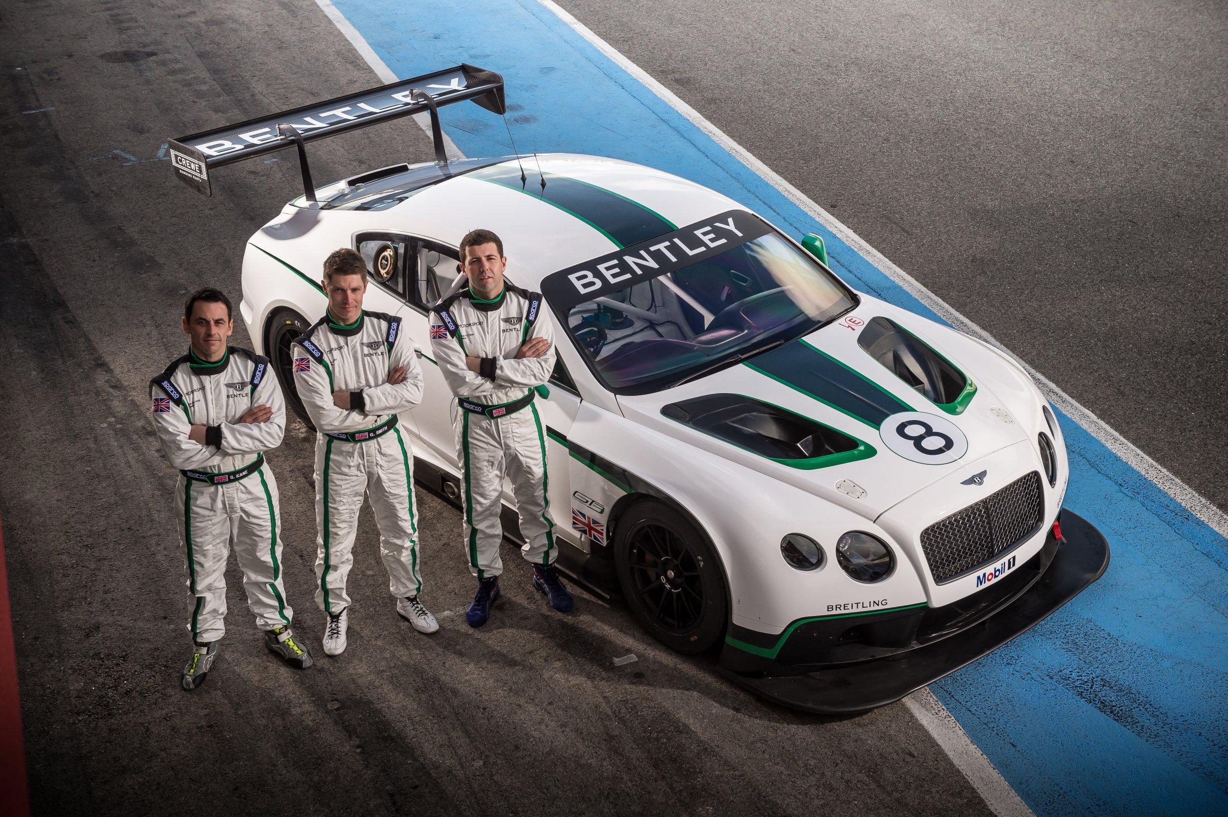 """Sport Auto : présentation des """"Bentley Boys"""", pilotes de la Continental GT3 !"""