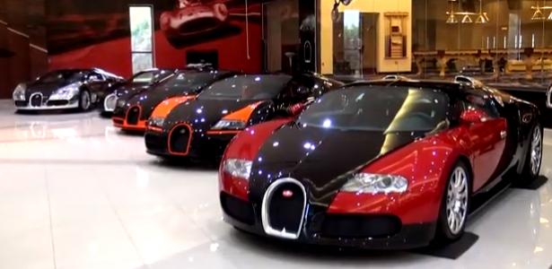 Sls Black Series >> Vidéo : le plus beau garage du monde... | Les Voitures