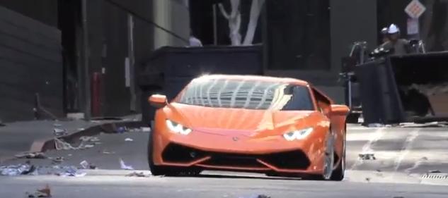 Vidéo : la Lamborghini Huracán surprise en plein tournage !