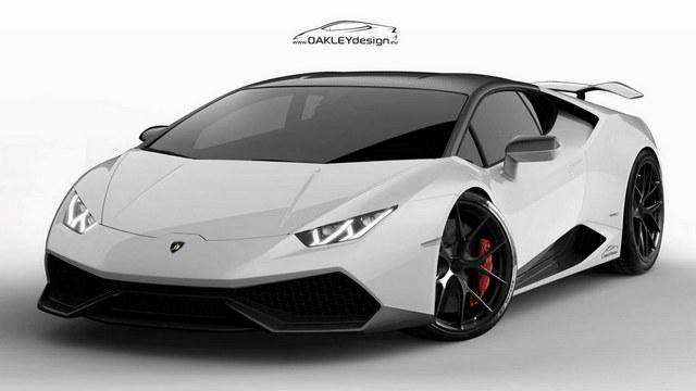 Lamborghini Huracán : déjà une version Oakley Design !