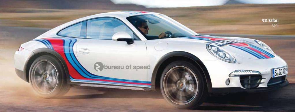 Vidéo : Porsche prépare l'arrivée de la 911 Safari Concept avec une vidéo tout en histoire…
