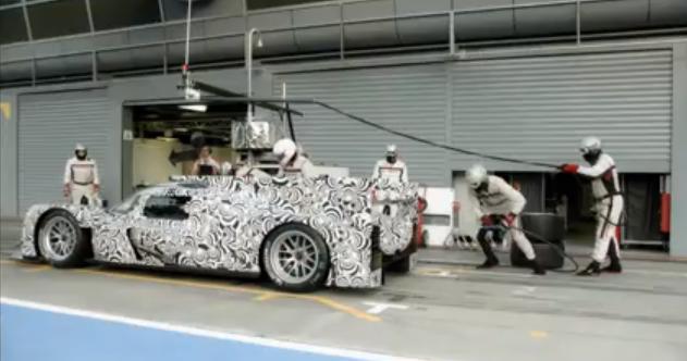 Vidéo : la Porsche 919 Hybrid se teste aux Pit Stops…