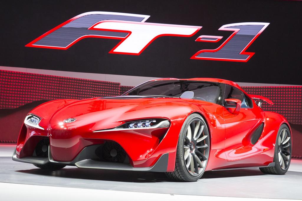 """Toyota FT-1 Concept : du rouge et du style pour la nouvelle œuvre d'art du pays du """"Soleil-Levant""""…"""